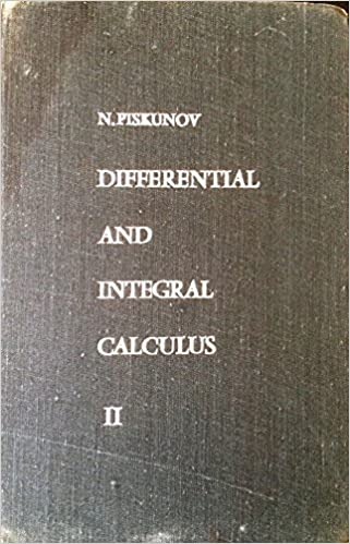 N Piskunov Differential And Integral Calculus Pdf