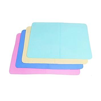 HGDGears PVA Toalla sintética de gamuza,Super absorción limpieza secado Toalla para natación,Auto,Pcs 4 (40*30cm): Amazon.es: Coche y moto