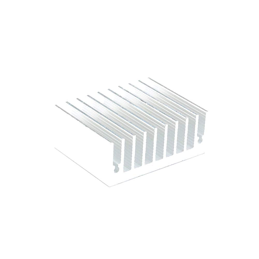 DIYElectronic 5 pcs 453518mm Heatsink Cooling Fin Radiator Aluminum Cooler Heat Sink for LED Power IC Transistor Module PBC 45X35X18mm