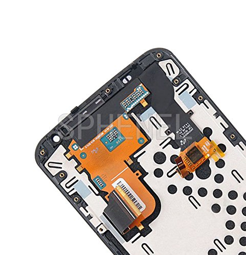 SPHENEL LCD Display And Digitizer Touch Screen Assembly With Screen Frame For Motorola Google Nexus 6 XT1100 XT1103 (With Frame) by SPHENEL (Image #3)