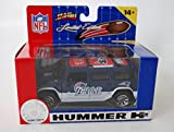2005 FLEER Collectibles 1:43 Scale Limited Edition NFL Die-cast H2 HUMMER - NEW ENGLAND PATRIOTS