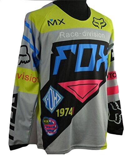 Motogp Herren T Shirts Fox Quick Dry Herren Langarm Shirt
