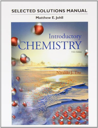 Students Selected Solutions Manual for Introductory Chemistry