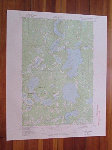 Many Point Lake Minnesota 1971 Original Vintage USGS Topo Map