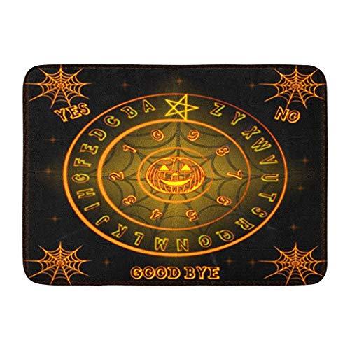 YGUII Doormats Bath Rugs Outdoor/Indoor Door Mat Ghosts Ouija Talking Board Halloween Horrorbackground Ouijaboard Bathroom Decor Rug Bath Mat 16X23.6in (40x60cm)]()