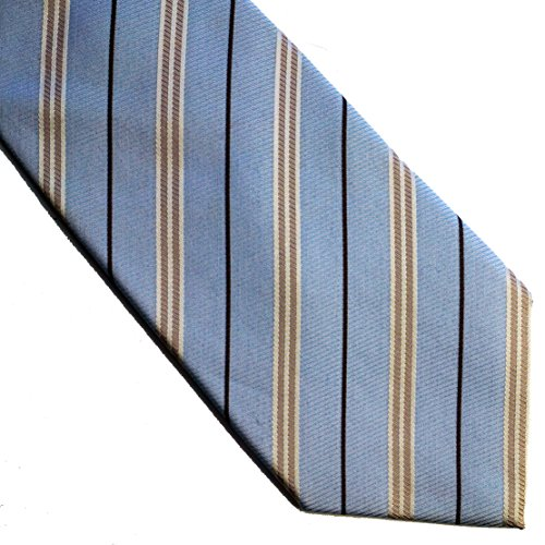 neckties 02blue woven COTTON and SILK blended qPwZ4gU