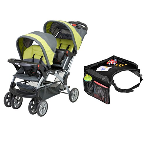Baby Trend Sit And Stand Double Stroller Carbon - 6