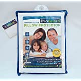 "ProGuard Terry Pillow Protector Complete Allergen Defense QUEEN Size 20"" x 30"""