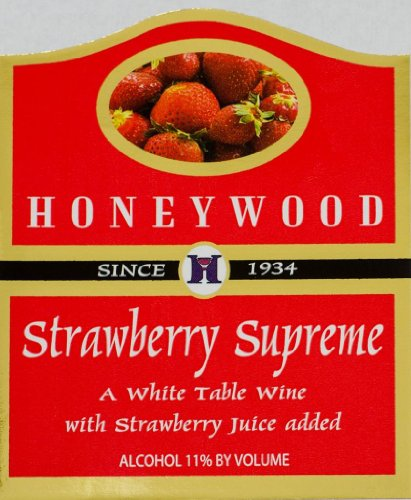 Honeywood Winery Strawberry Supreme