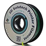 3D Solutech PLA175RGRN 3D Printer Filament, Dimensional Accuracy +/- 0.03 mm, 2.2 lb. (1.0KG) - 100% USA, 1.75 mm, PLA, Green