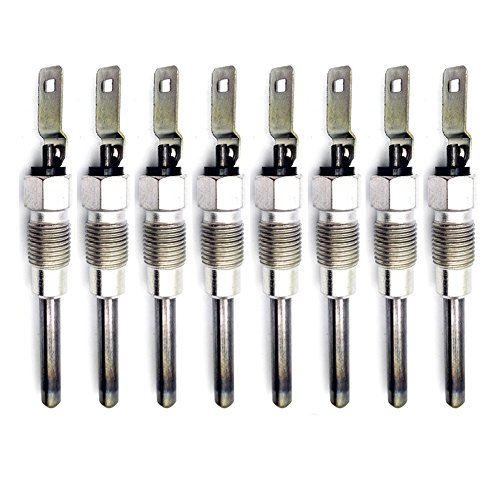 0250202126 Chevrolet GMC Hummer Fast Start Glow Plugs 6.2L & 6.5L Diesel Engines 1992 Gmc K3500 Engine