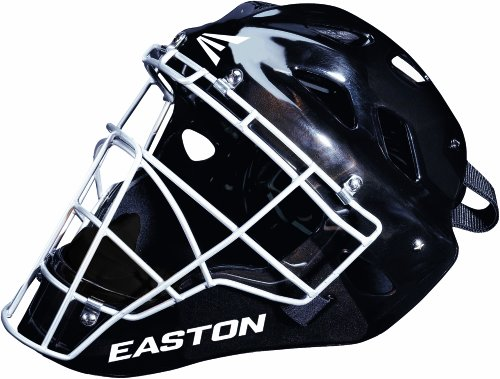 Easton Stealth Catchers Helmet - Easton Stealth Speed Elite Catchers Helmet (Small, Black)