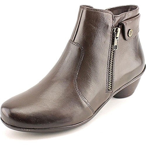 Naturalizer Women's Haley Oxford Brown Leather Boot 8.5 M (B)