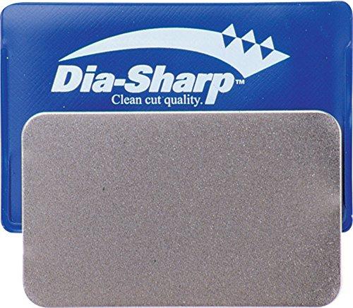 DMT D3C 3-inch Dia-Sharp Sharpener, Coarse, Credit Card Sized