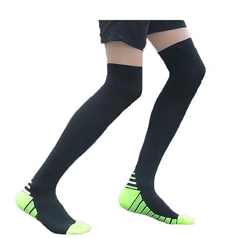 WDXIN Calcetines Largos De Compresión para Hombres Y Mujeres Varices Running Recuperación Muscular Reduce Fatiga,