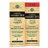 Solgar – Liquid Vitamin D3 (Cholecalciferol) 5000 IU – Natural Orange Flavor (2 Pack) Review