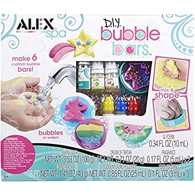 Alex Spa DIY Bubble Bars Girls Fashion Activity: Toys & Games