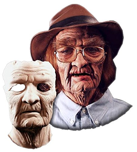 Old Age Facial Prosthetic Costume Mask -