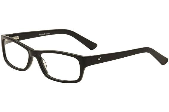 7ca1195f2a9 Amazon.com  Fatheadz Mik Mens Eyeglass Frames - Black  Clothing