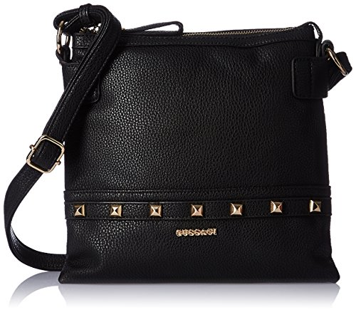Gussaci Italy Women's Handbag (Black) (GUS127)