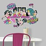 RoomMates RMK3604SCS Wonder Woman Pop Art Peel and Stick Wall Decals