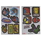 Officially Licensed Marvel Comics Superheroes Iron-On Bag and Clothes Patches