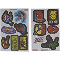 Paladone Marvel Iron On Patches, 13 Unidades