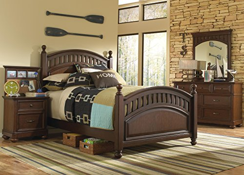 Pulaski Expedition Youth 4 Piece Bedroom Set, Full by Pulaski