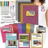 Cricut Tools Bundle - Vinyl Pack, Basic Tools Explore Fine Point Pens
