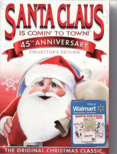 Santa Claus is Comin' to Town 45th Anniversary Collector's Edition Includes Santa Fun Pack Inside