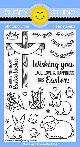Sunny Studio Clear Stamps ~ Easter - Studio Sunnies