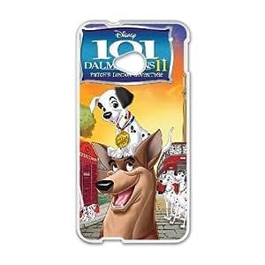 HTC One M7 Phone case White 101 Dalmatians (Animated) QQA8804871
