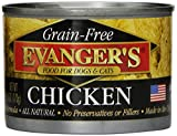 Evangers 776275 24-Pack Grain Free 100-Percent Chicken for Dogs and Cats, 6-Ounce