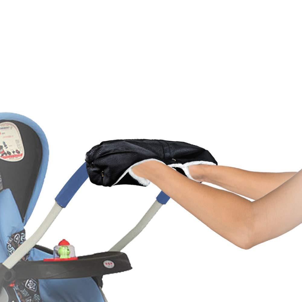 XPuing Stroller Thermal Gloves Warm Winter Warm Stroller Hand Muff para padres y cuidadores Gris guantes t/érmicos a prueba de viento Guantes t/érmicos para hombres y mujeres
