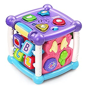 VTech Busy Learners Activity Cube - Purple - Online Exclusive by VTech that we recomend individually.