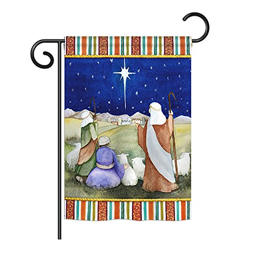 Breeze Decor G164215 Christmas in Bethlehem Winter Nativity