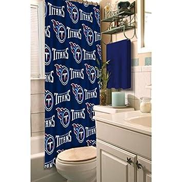 tennessee titans stoff vorhang fr die dusche - Stoff Vorhang Dusche