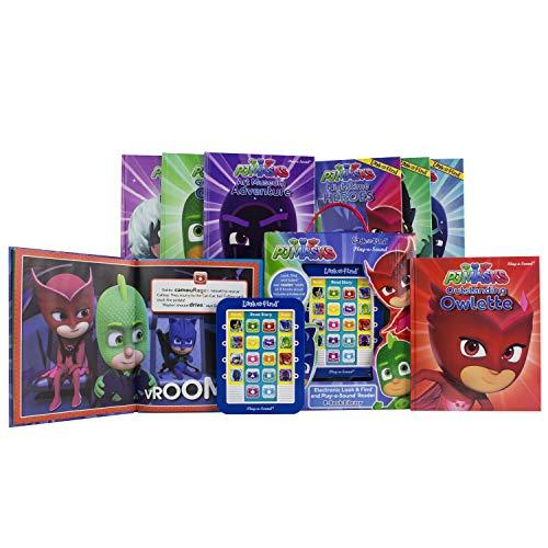PJ Masks - Me Reader Electronic Reader and 8 Sound Book Library - PI Kids
