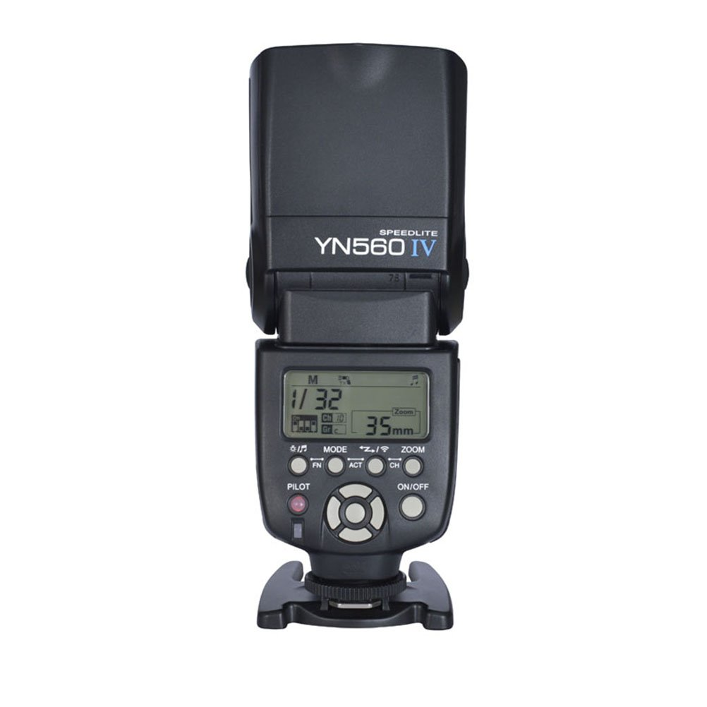 Yongnuo YN560 IV Speedlite Flash Supports Wireless Master Function by Yongnuo