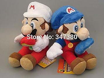 Amazon.com: Mario Hielo Flores y Luigi hielo Flores 7.9 inch ...