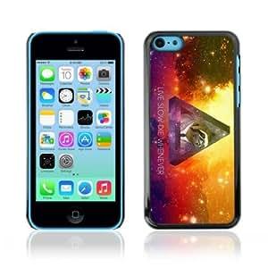 MMZ DIY PHONE CASEYOYOSHOP [Funny Hipster Galaxy Sloth] Apple iphone 4/4s Case