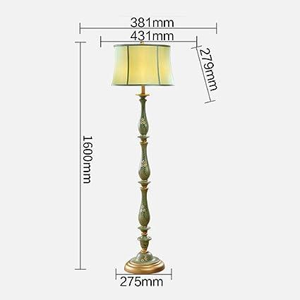 Lámpara de pie, FUFU Sofá Simple Luz Pintada a Mano Salón ...