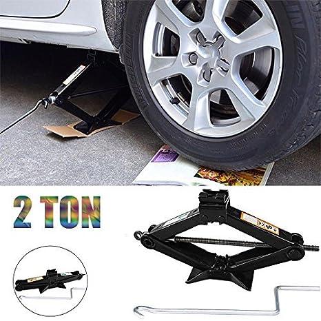 Amazon Com Car Van 2 Ton Tonne Scissor Jack Wind Up Tool With Speed