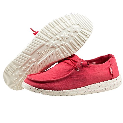 Dude Women's Coral Hey Wendy Loafers HqxIw5vd