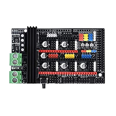 WitBot Ramps 1.6 Plus Open Source Expansion Control Board Upgraded Ramps 1.4 Motherboard Support TMC2130 Driver Reprap Mendel for 3D Printer Parts