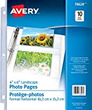 Avery Photo Pages, Clear, 10 Sheets (78628)