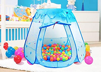 Amtinyjoy Blue Princess Tent Indoor and Outdoor 1-8 Years Old Children Game Play Toys Tent Balls Not Included by Amgaogen that we recomend personally.