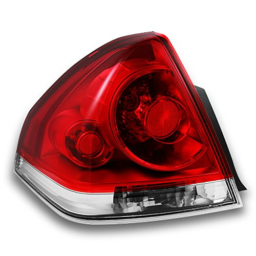 - For Chevy Impala Replacement Red Clear Tail Lights Driver Rear Lamps New