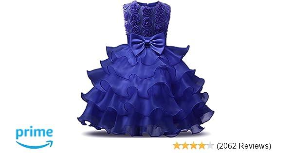 Amazon nnjxd girl dress kids ruffles lace party wedding dresses amazon nnjxd girl dress kids ruffles lace party wedding dresses clothing mightylinksfo