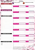 Weekly Planner - Advanced Weekly Planning System Tear Off To Do Pad Designed To Increase Productivity and Happiness - Planner Pad NEW 8.5' x 11' Size